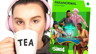 The New Sims Pack is Here - The Sims 4 Paranormal Stuff
