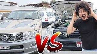 Dubai Garage Modify Craziest SUV With 1500 Hp ( VTC vs Land Cruiser )