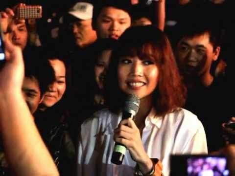 A-Lin現場演唱~我很忙(台南花園夜市快閃活動)