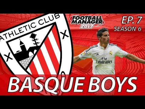 Basque Boys | S06E07 | SOUPED-UP HOT ROD | Football Manager 2017