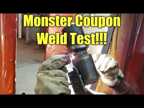 Pipe test coupons