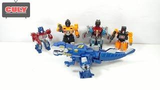 Ráp robot khổng lồ từ khủng long máy bay và xe hơi đồ chơi trẻ em toy for kids