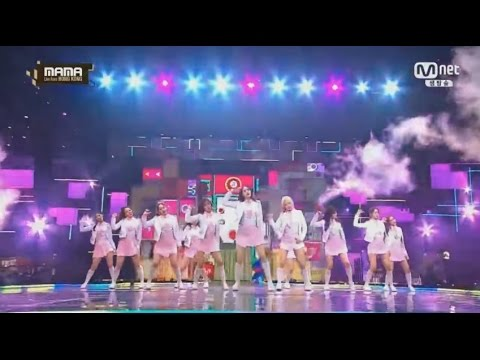 [2016 MAMA]I.O.I(아이오아이) - Pick me + Very Very Very