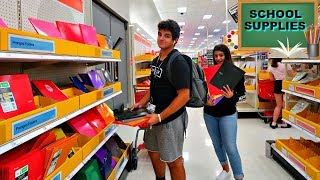 LAST MINUTE SCHOOL SUPPLIES SHOPPING /THE FIRST DAY OF SCHOOL  VLOG #226