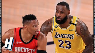 Los Angeles Lakers vs Houston Rockets - Full Game 4 Highlights | September 10, 2020 NBA Playoffs
