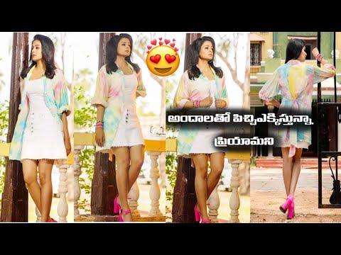 Actress Priyamani looks super stylish in her latest photoshoot