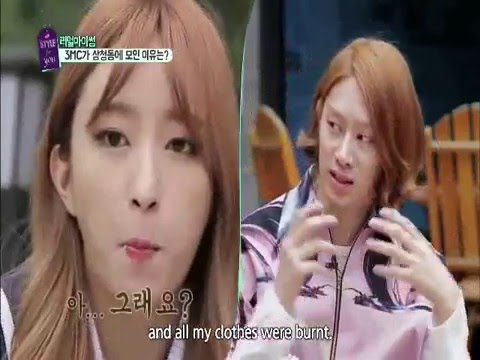 Flashback Heechul & Hani moment @a style 4 u. Love is in the air, with Super Junior & EXID songs