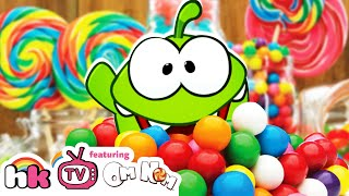 Om Nom Stories: Candy Adventure | Cut the Rope | Funny Cartoons for Kids by HooplaKidz TV!