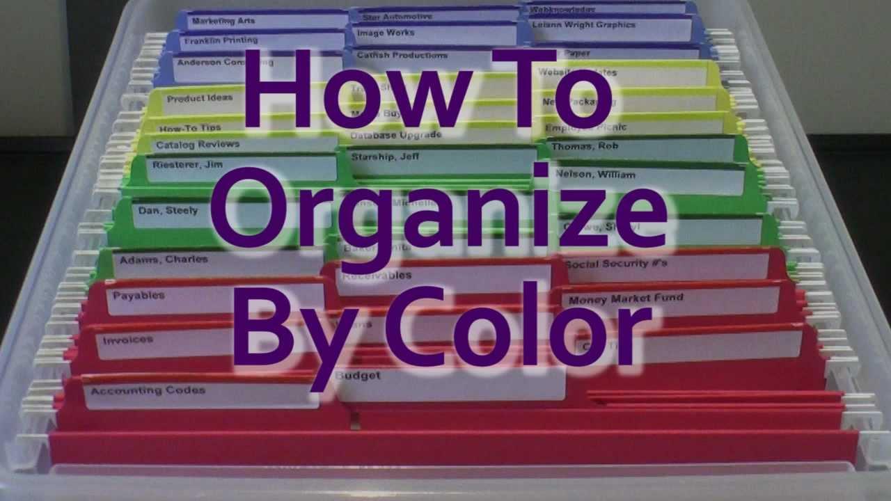 Home Office Organization Ideas Diy Filing System