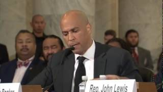 FULL: Senator Cory Booker testifies against Senator Jeff Sessions