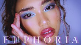 EUPHORIA MAKEUP 💎 Maddy Inspired Makeup Tutorial | rachelteetyler