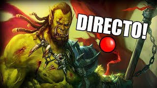 Jugando World of Warcraft MOP lvl orco 15-20 (DIRECTO RESUBIDO)