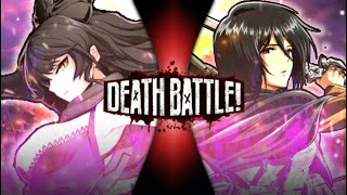 Blake vs Mikasa (Rwby vs Attack on Titan) Death Battle NEXT TIME