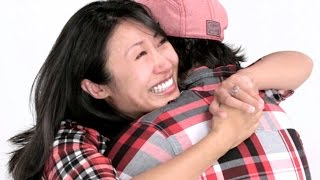 Couples Hug For 4 Minutes Straight