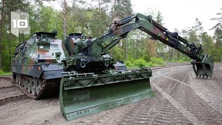 10 Most Amazing Military Engineering Vehicles in the World