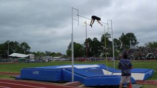 MONDO DUPLANTIS 10 YEAR POLE VAULT PROGRESSION