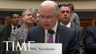 Jeff Sessions Angrily Says He Didn't Lie Under Oath About Russia To House Judiciary Committee | TIME