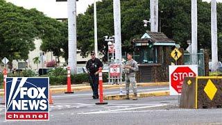 Authorities brief media on Pearl Harbor navy yard shooting