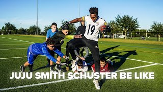 JUJU SMITH-SCHUSTER BE LIKE..