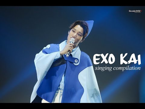 EXO KAI SINGING COMPILATION