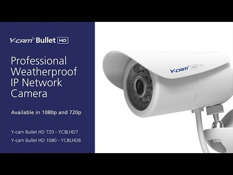Y-cam Bullet HD (2nd generation) Pro IP camera overview