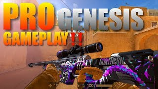 Standoff 2 Pro AWM Sniper Genesis Gameplay‼️