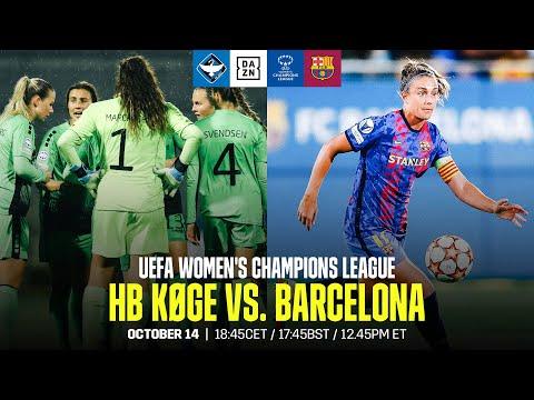 HB Køge vs. Barcelona   UEFA Women's Champions League Matchday 2 Full Match