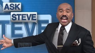 Ask Steve: My 4-year-old loves cussing! || STEVE HARVEY