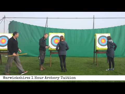 Warwickshire: 1 Hour Archery Tuition (60 Second Review)