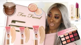 Too Faced Peaches and Cream WUTS GOOD?! | Jackie Aina