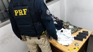 PRF prende quadrilha especializada em furtar produtos em lojas na BR-290 em Eldorado do Sul