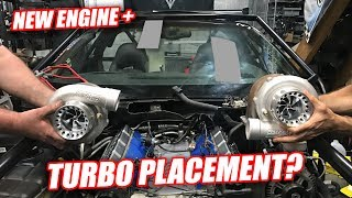 Turbocharging Leroy Ep.2 - Turbo Location?? (new engine is here)