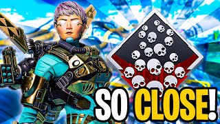 SO CLOSE TO DROPPING 20 KILLS WITH VALKYRIE (APEX LEGENDS SEASON9)