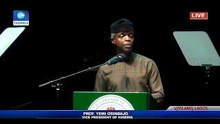 'Zenith's Story, A Story Of Vision And Hard Work', Osinbajo Congratulates Jim Ovia