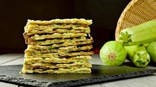 Интересный рецепт от подписчика — хлебцы из кабачка! Идеально к борщу