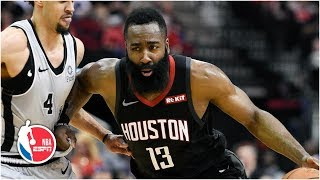 James Harden's 61 points matches his career high as he leads the Rockets to victory | NBA Highlights