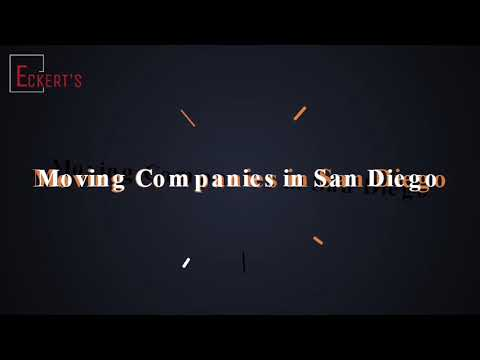 Eckert's Moving & Storage | Moving Company in San Diego | A Quick Overview