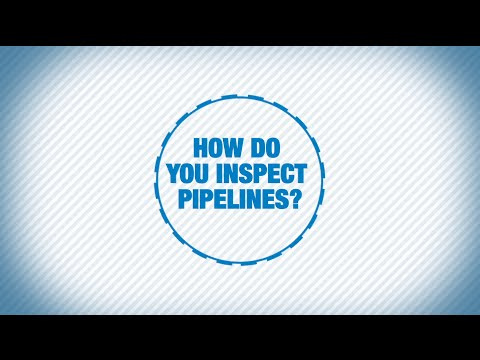 How do you inspect pipelines?