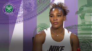 Serena Williams - 'I'm not tired'   Wimbledon 2018