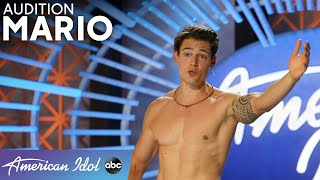 LOL! WOW! Speedo Wearing Mario Adrion Gets The Judges To Have A Runway Walk Off - American Idol 2021