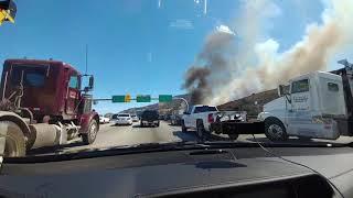 Canyon Fire - 91 Freeway - 09-25-17