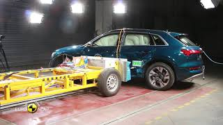 Euro NCAP Crash Test of Audi e-tron 2019