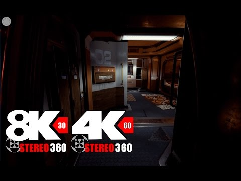 Scifi Bunk - 60fps 4k 8k Stereo 360 with Ambisonic audio by Commodity Games