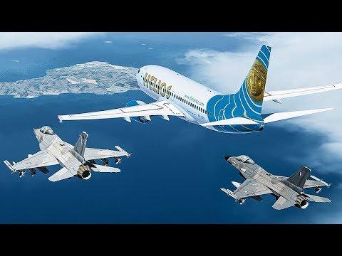 Ghost Plane | No One in Control of this Boeing 737 | Helios Airways Flight 522 | 4K