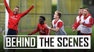 Six-a-side showdown! | Behind the scenes | Arsenal Training Centre