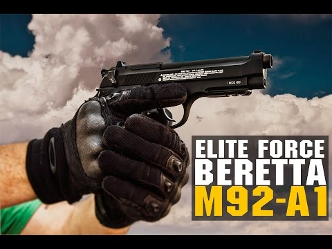 Elite Force Beretta  M92-A1 Airsoft CO2 Pistol Overview | FULL AUTO | Airsoft GI