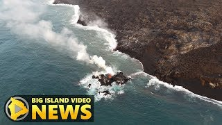 Hawaii Volcano Eruption Update - Friday Evening (July 13, 2018)