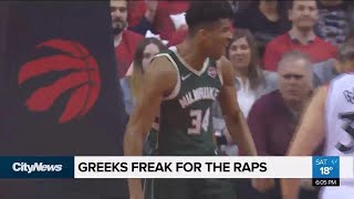 Are Greektown residents cheering for the 'Greek Freak'?