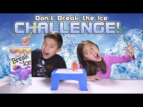Don T Break The Ice Challenge Kids Game Night With Real