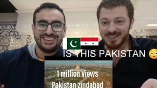 Emerging Pakistan Arabic Reaction First time Amazed | ردة فعل الشاب العربي من منظر باكستان